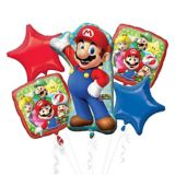 Bouquet géant de ballons Super Mario, paq. 5