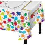 Art Party Colour-On Paper Table Cover