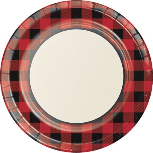 Buffalo Plaid Dinner Plates, 8-pk