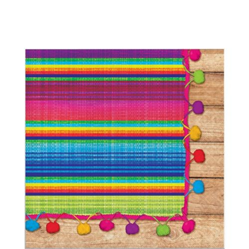Serape Lunch Napkins, 16-pk
