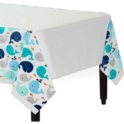 Nappe baleineau, bleu