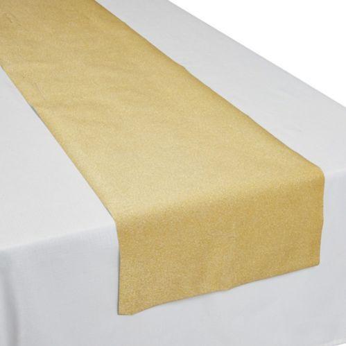 Glitter Gold Table Runner