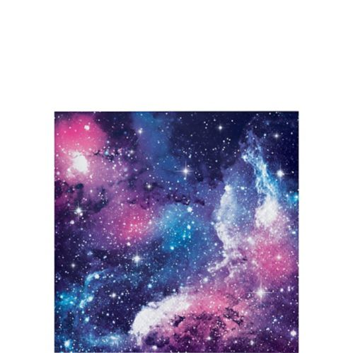 Serviettes à boissons Galaxie, paq. 16