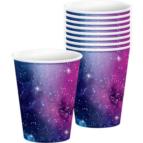 Gobelets Galaxie festive, paq. 8