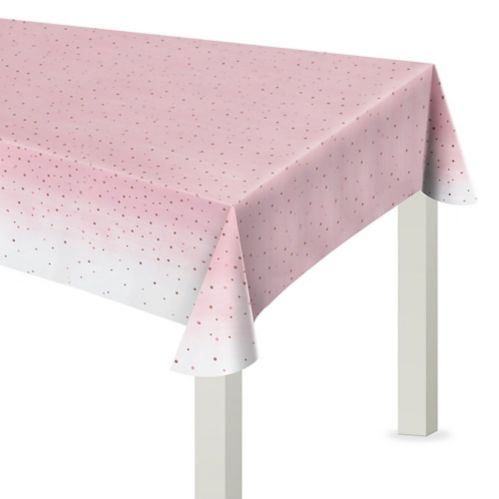 Rosé All Day Plastic Table Cover