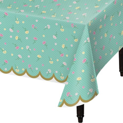 Nappe à motif de fleurs Floral Tea Party