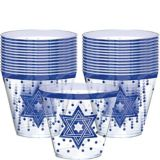 Passover Plastic Cups, 30-pk   Amscannull