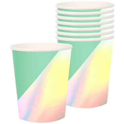 Shimmering Party Cups, 8-pk