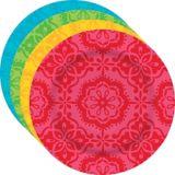 Fiesta Time Plastic Dessert Plates, 4-pk | Amscannull