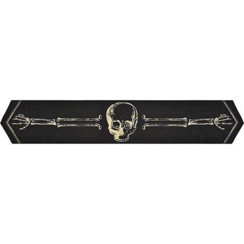 Chemin de table, os de squelette Image de l'article