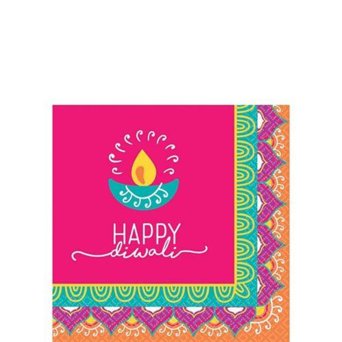 Diwali Beverage Napkins, 16-pk Product image