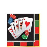 Roll the Dice Casino Beverage Napkins, 16-pk | Amscannull