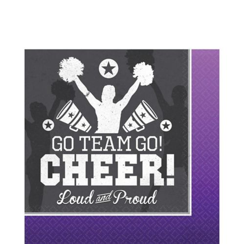 Cheer Lunch Napkins, 16-pk