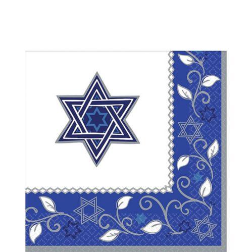 Serviettes de table Joyeuse fête de Pessa'h, paq. 16 Image de l'article
