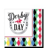 Harlequin Derby Day Lunch Napkins, 16-pk | Amscannull