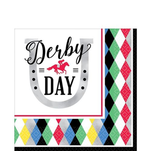 Harlequin Derby Day Lunch Napkins, 16-pk
