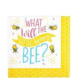Little Honey Bee Lunch Napkins, 16-pk | Amscannull