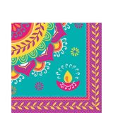 Serviettes de table Diwali, paq. 16 | Amscannull