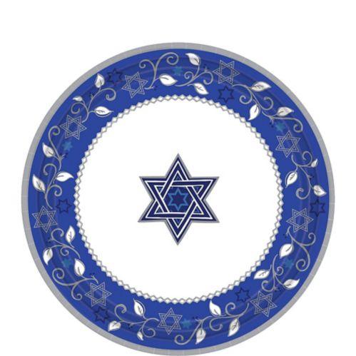 Joyous Holiday Passover Dessert Plates, 8-pk Product image