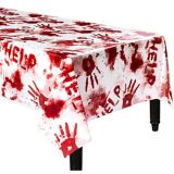 Bloody Hands Table Cover | Amscannull