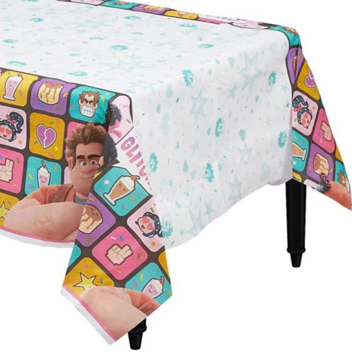 Wreck-It Ralph Paper Table Cover