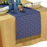 Chemin de table en tissu de l'Aïd Moubarak   Amscannull