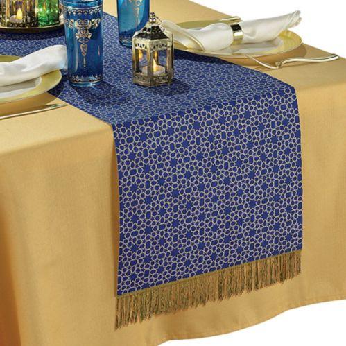 Chemin de table en tissu de l'Aïd Moubarak Image de l'article