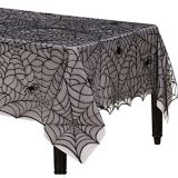 Spider Web Lace Fabric Tablecloth | Amscannull