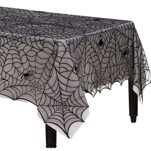 Spider Web Lace Fabric Tablecloth
