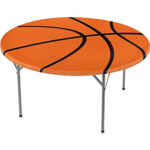 Nappe ajustée à motif de basketball