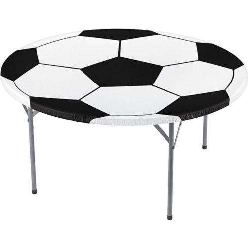 Fitted Soccer Ball Table Cover