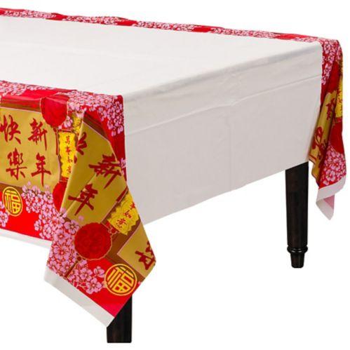 Housse de table bénédictions Nouvel An chinois