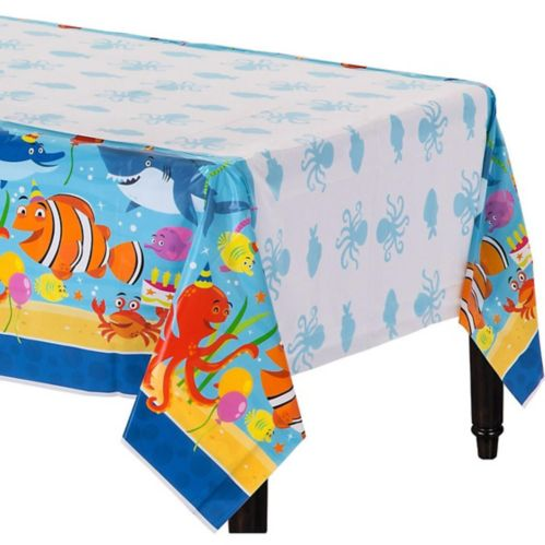 Under the Sea Birthday Table Cover Product image