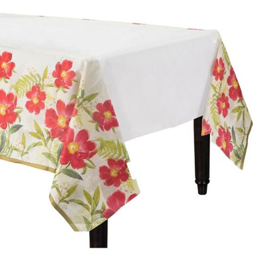 Botanical Peony Table Cover