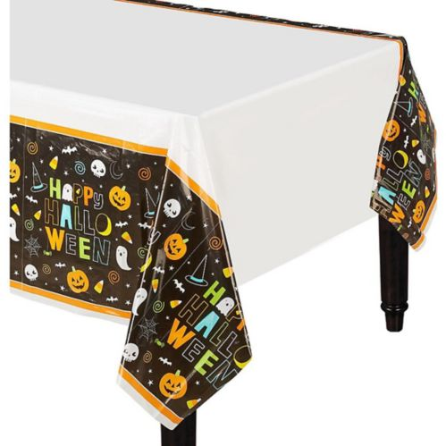 Halloween Friends Table Covers, 3-pk
