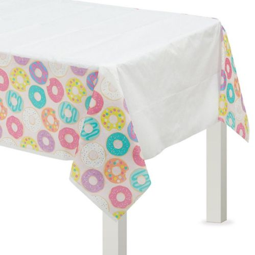 Donut Party Table Cover