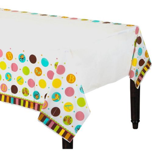 Fisher-Price ABC Baby Shower Table Cover