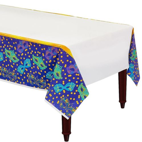 A Night in Disguise Masquerade Table Cover