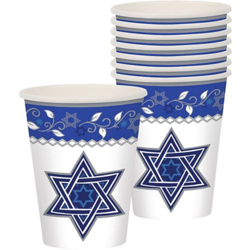 Joyous Holiday Passover Cups, 8-pk