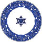 Assiettes à dîner Joyeuse fête de Pessa'h, paq. 8