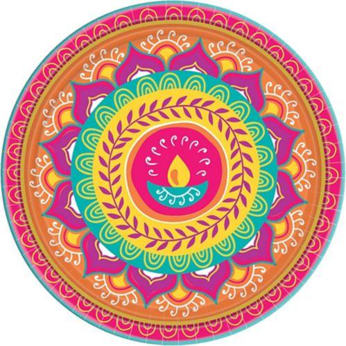 Diwali Dinner Plates, 8-pk