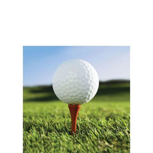 Serviettes à boisson Golf, paq. 18 Image de l'article