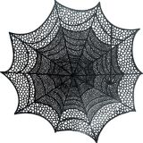 Spider Web Vinyl Placemat | Amscannull
