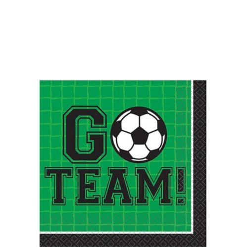 Goal Getter Soccer Beverage Napkins, 36-pk
