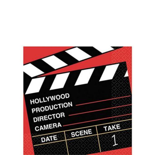 Clapboard Hollywood Beverage Napkins, 36-pk Product image