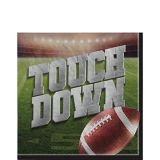 Go Fight Win Football Lunch Napkins, 36-pk | Amscannull