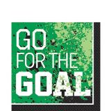 Serviettes de table de soccer Compteur de but, paq. 36 | Amscannull