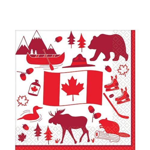 Canada Lunch Napkins, 36-pk