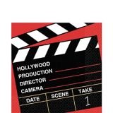 Clapboard Hollywood Lunch Napkins, 36-pk | Amscannull
