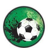 Goal Getter Soccer Dessert Plates, 18-pk | Amscannull